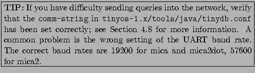 TinyDB: In-Network Query Processing in TinyOS